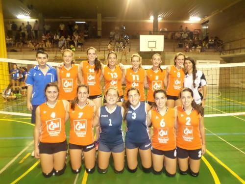 Equipo Cadete. Voleibol Teruel 15/16