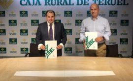 NP Caja Rural de Teruel seguirá patrocinando al Club Voleibol Teruel una nueva temporada